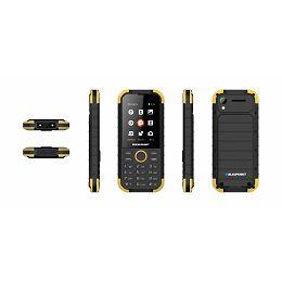 Mobitel Blaupunkt Sand, dual SIM, žuti 5999887068836