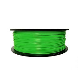 Filament for 3D, ABS, 1.75 mm, 1 kg, green ABS green