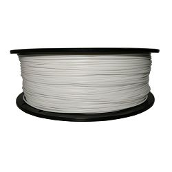 Filament for 3D, ABS, 1.75 mm, 1 kg, white ABS white