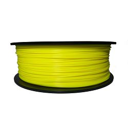 Filament for 3D, ABS, 1.75 mm, 1 kg, yellow ABS yellow