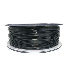 Filament for 3D, PET-G, 1.75 mm, 1 kg, black PETG black