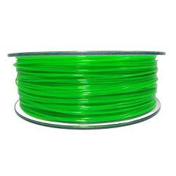 Filament for 3D, PET-G, 1.75 mm, 1 kg, green trans PETG green transparent