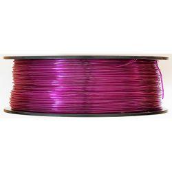 Filament for 3D, PET-G, 1.75 mm, 1 kg, purple tran PETG transp. purple