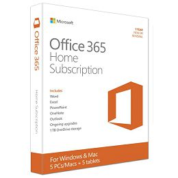 Office 365 Home Eng 1y Sub Medialess P2