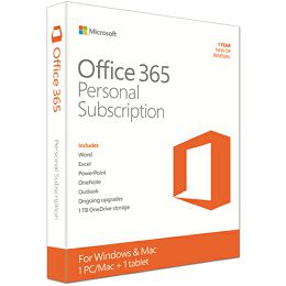 Office 365 Pers Eng subs 1YR medialess P2