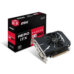 MSI RX 560 Aero ITX 4G OC , 4GB GDDR5, DX12
