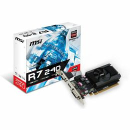 MSI R7 240 1GD3 64b LP 1024MB,PCI-E,DVI,HDMI,LP