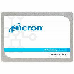"""Micron 1300 256GB SATA  2.5"""" 7mm, SATA 6 Gbit/s, Read/Write: 530 MB/s / 520 MB/s, Random Read/Write IOPS 58K/87K TBW 180"""