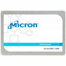 """MICRON 1300 512GB SSD, 2.5"""" 7mm, SATA 6 Gb/s, Read/Write: 530 / 520 MB/s, Random Read/Write IOPS 90K/87K"""