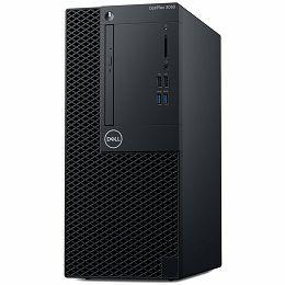 DELL OptiPlex 3060 MT with 260W up to 85% efficient PS, Intel Core i5-8500 (6 Cores/9MB/6T/up to 4.1GHz/65W), 4GB 2666MHz DDR4, 3.5 inch 1TB 7200rpm SATA HDD, 8x DVD+/-RW 9.5mm ODD, Intel HD, No WiFi,