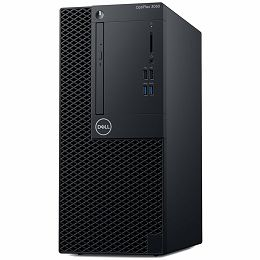 Dell OptiPlex 3060 MT w/260W up to 85% efficient PS, Intel Core i3-8100 (4 Cores/6 MB/4T/3.6 GHz/65 W), 4GB DDR4 2666MHz, 3.5