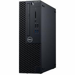 DELL OptiPlex 3070 SFF BTX w/200W up to 85% efficient PS, Intel Core i3-9100, 8GB DDR4 2666MHz, 3.5in 1TB 7200rpm SATA HDD, Intel integrated, 8x DVDRW 9.5mm, K+M, Linux, 3Y