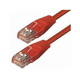 NaviaTec Cat5e UTP Patch Cable 0,25m red