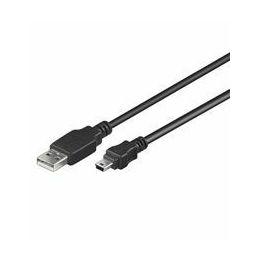 NaviaTec USB A to mini 5 p usb cable 1,8m