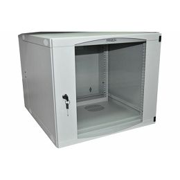 NaviaTec Wall Cabinet 570x600 12U Single Section, Bež