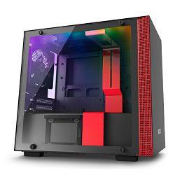 NZXT H210i pametno kućište, crveno bez nap., ITX CA-H210i-BR