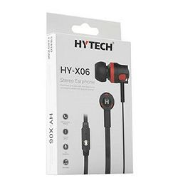 Oprema za mobitel, slušalice s mikrofonom HY-X06, crne, Hytech