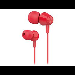 Oprema za mobitel, slušalice s mikrofonom HY-XK30, crvene, Hytech
