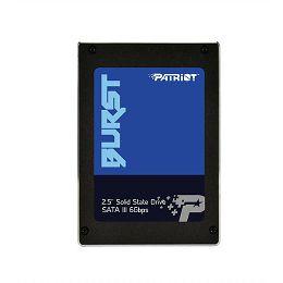Patriot SSD Burst R560/W540, 120GB, 7mm, 2.5