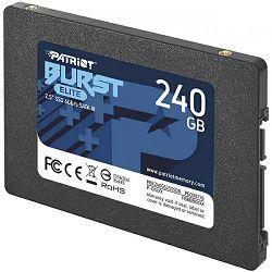 "Patriot SSD Burst Elite R450/W320, 240GB, 7mm,2.5"" PBE240GS25SSDR"