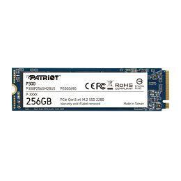 Patriot SSD P300 R1700/W1100, 256GB, M.2 NVMe P300P256GM28