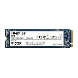 Patriot SSD P300 R1700/W1200, 512GB, M.2 NVMe P300P512GM28
