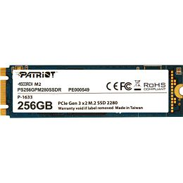 Patriot SSD Scorch R1700/W780, 256GB, M.2 NVMe