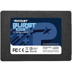 "Patriot SSD Burst Elite R450/W320, 120GB, 7mm,2.5"" PBE120GS25SSDR"