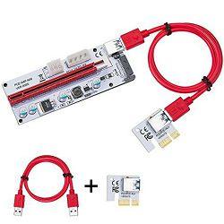 PCI-E Extender, Riser USB 3.0, V008s, 60cm