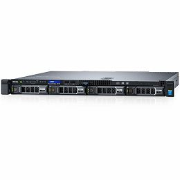 DELL EMC PowerEdge R230 1U SMART VALUE w/4x3.5, Intel Xeon E3-1220 v6 3.0GHz, 8M cache, 4C/4T, turbo (72W), 8GB UDIMM 2400MT/s, 1TB 7.2K RPM SATA 6Gbps 3.5in HDD, DVDRW, LOM 1GBE DP, iDRAC8 Basic, C