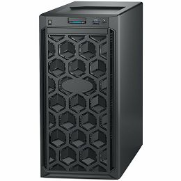 DELL EMC PowerEdge T140 4x3.5in, Intel Core i3 8100 3.6GHz, 6M cache, 4C/4T, no turbo (65W), 8GB 2666MT/s DDR4, 1TB 7.2K RPM SATA, DVD+/-RW SATA, iDrac9 Basic, TPM 1.2, On-Board LOM, 40 Month NBD
