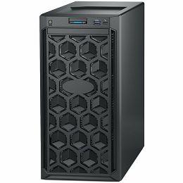 DELL EMC PowerEdge T140 w/4x3.5in, Intel Xeon E-2224 (3.4GHz, 8M cache, 4C/4T, turbo (71W)), 16GB 2666MT/s DDR4, 1TB 7.2K RPM SATA 6Gbps 512n 3.5in, iDrac9 Basic, DVDRW, TPM 2.0, On-Board LOM, 3Y NBD