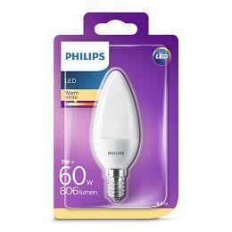 Philips LED žarulja, E14, B38, topla, 7W, matir
