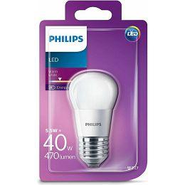 Philips LED žarulja, E27, P45, topla, 5.5W, matir