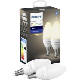 Philips HUE žarulja, E14, topla bijela, 6W, BT