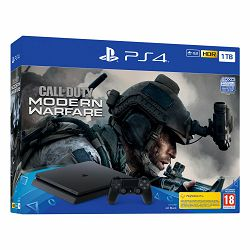 PlayStation 4 1TB F chassis Black + Call of Duty: Modern Warfare 2019