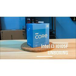 Procesor INTEL Core i3 10105 BOX, s. 1200, 3.7GHz, 8MB cache, Quad Core BX8070110105