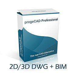 ProgeCAD 2020 2D/3D Professional SL - osnovna licenca