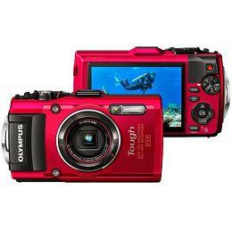 Fotoaparat vodootporni TG-4 RED Olympus