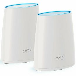 Orbi Whole Home AC2200 Tri-band Wifi System (2 units kit with desktop satellite, 250 m2 coverage)