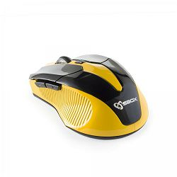 SBOX bežični miš WM-9017 crno-žuti