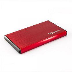 SBOX HDD ladica USB 3.0 HDC-2562 crvena