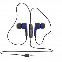 SBOX in-ear slušalice s mikrofonom EP-791 plave