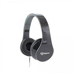 SBOX on-ear slušalice s mikrofonom HS-501 crne