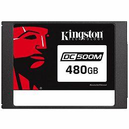 """Kingston 480G DC500M (Mixed-Use) 2.5"""" Enterprise SATA SSD 1139TBW (1.3 DWPD) EAN: 740617291315"""