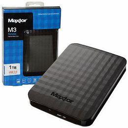 Maxtor M3 1TB, USB3.0, black
