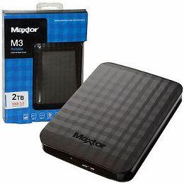 Maxtor M3 2TB,USB3.0, black