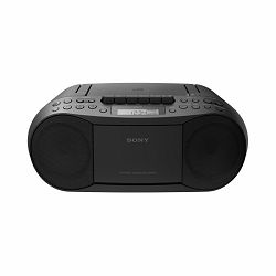 Sony CFD-S70, boombox s CD/kaseta/radio, crni CFDS70B.CET