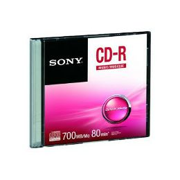 Sony CD-R, 48x, 700MB