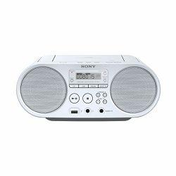 Sony ZS-PS50, CD Boombox, USB, bijeli ZSPS50W.CET